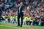 Real Madrid coach Julen Lopetegui during La Liga match between Real Madrid and Getafe CF at Santiago Bernabeu in Madrid, Spain. August 19, 2018. (ALTERPHOTOS/Borja B.Hojas)