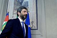 Roma, 13 Aprile 2018<br /> Roberto Fico<br /> Secondo giro di Consultazioni per la formazione del Governo