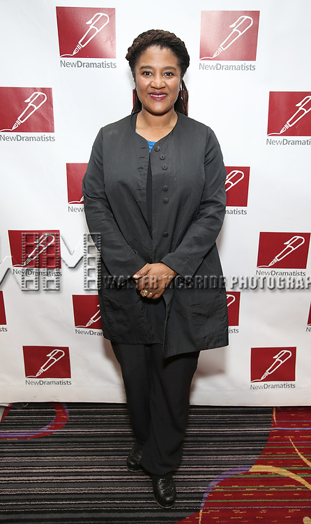 Lynn Nottage attends The New Dramatists' 68th Annual Spring Luncheon at the Marriott Marquis on May 16, 2017 in New York City.