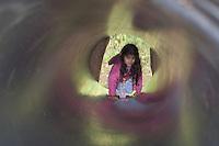 Beginning of the Tomb Raider tunnel