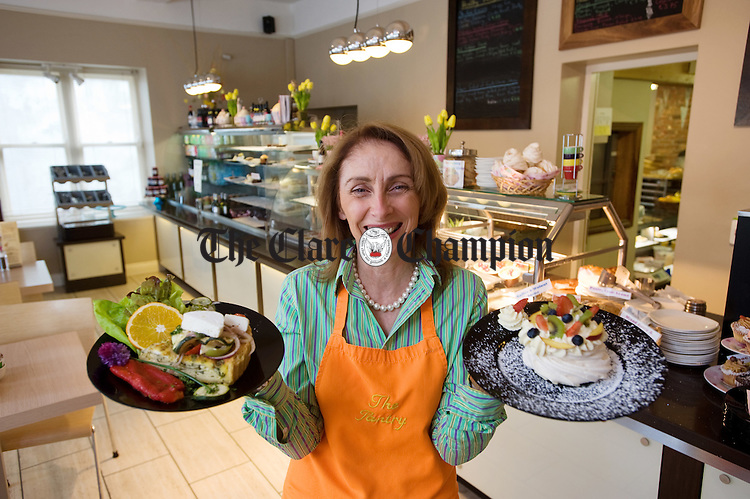 Imelda Bourke of The Pantry Deli, Cafe and Bakery at Kilkee. Photograph by John Kelly.