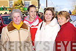 Peg, Shauna and Marie Hough from Newcastle West with local woman Patricia Cleary enjoying the atmosphere at the Annual Horse and Pony fair in Athea last Saturday morning.