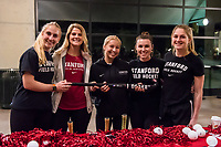 Stanford, CA - February 10, 2018: Stanford University National Girls and Women in Sports Day: Student-Athlete Panel