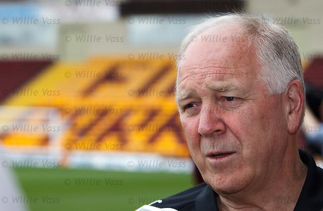 Craig Brown talking ahead of Motherwell's latest Europa League adventure