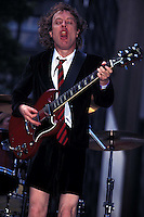 Angus Young Of AC/DC Rocks During Filming Of Howard Sterns Private Parts In NYC<br />