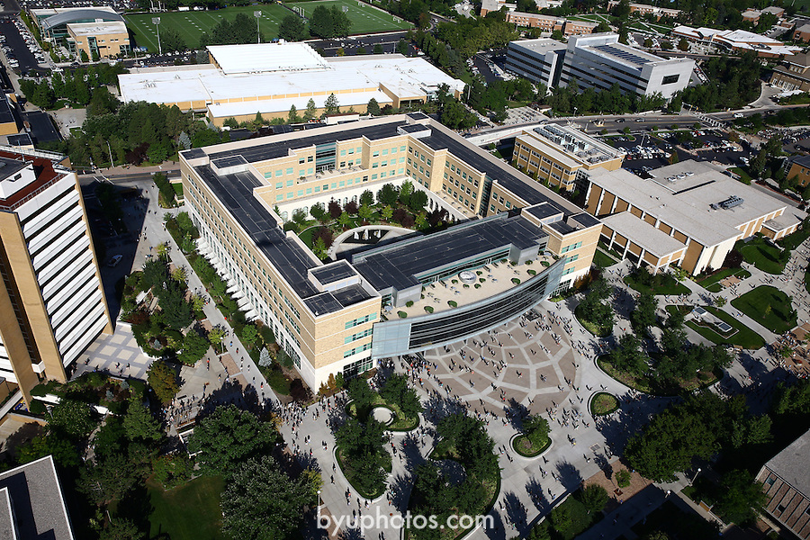 1309-22 3079<br /> <br /> 1309-22 BYU Campus Aerials<br /> <br /> Brigham Young University Campus, Provo, <br /> <br /> Joseph F. Smith Building, JFSB, JFSB Quad, <br /> <br /> September 6, 2013<br /> <br /> Photo by Jaren Wilkey/BYU<br /> <br /> &copy; BYU PHOTO 2013<br /> All Rights Reserved<br /> photo@byu.edu  (801)422-7322