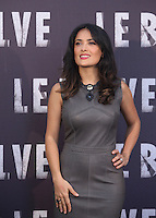 """L'attrice messicana Salma Hayek posa durante il photocall per la presentazione del film """" Le Belve"""" a Roma, 25 settembre 2012..Mexican actress Salma Hayek poses during a photocall for the presentation of the movie """"Savages"""" in Rome, 25 September 2012..UPDATE IMAGES PRESS/Isabella Bonotto"""