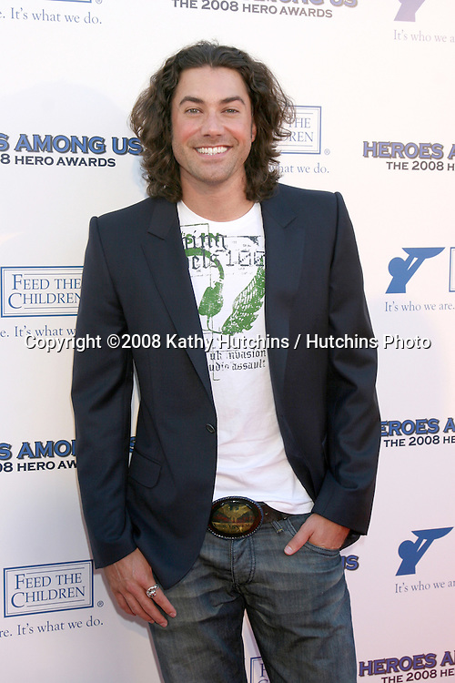 Ace Young arriving at the.2008 Hero Awards at the Universal Hilton.Los Angeles,  CA.June 6, 2008.©2008 Kathy Hutchins / Hutchins Photo .