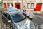 Congratulations to Mr Martin McHale from Ballyfinnane who is the latest winner of the credit union car draw.Pictured l-r Jerry O'Sullivan from Kelleher's Toyota, Martin McHale (Winner), Derry Flemming (Tralee Credit Union), and Mary McHale from Ballyfinnane