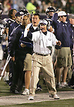 Nevada head coach Chris Ault reacts on the sidelines of Friday's football game against Hawaii, Nov. 15, 2007 in Reno, Nev. .Photo by Cathleen Allison