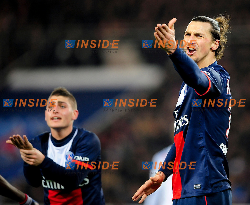 Zlatan Ibrahimovic (PSG) <br /> Parigi 01-12-2013 Football Calcio 2013/2014<br /> Ligue 1 Francia - Psg Vs Lyon <br /> Foto Panoramic / Insidefoto <br /> ITALY ONLY