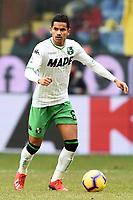 Rogerio Oliveira da Silva of Sassuolo <br /> Genova 03-02-2019 Stadio Marassi, Football Serie A 2018/2019 Genoa - Sassuolo   <br /> Foto Image Sport / Insidefoto