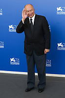 John Woo at the &quot;Zhuibu (Manhunt) &quot; photocall, 74th Venice Film Festival in Italy on 8 September 2017.<br /> <br /> Photo: Kristina Afanasyeva/Featureflash/SilverHub<br /> 0208 004 5359<br /> sales@silverhubmedia.com
