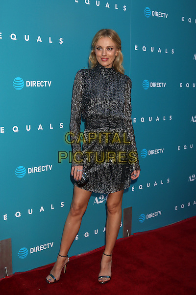 HOLLYWOOD, CA - JULY 7: Bar Paly at the &quot;Equals&quot; Premiere at the ArcLight Theater in Hollywood, California on July 7, 2016. <br /> CAP/MPI/DE<br /> &copy;DE/MPI/Capital Pictures
