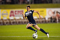 Sky Blue FC forward Kelley O'Hara (19). Sky Blue FC and FC Kansas City played to a 2-2 tie during a National Women's Soccer League (NWSL) match at Yurcak Field in Piscataway, NJ, on June 26, 2013.