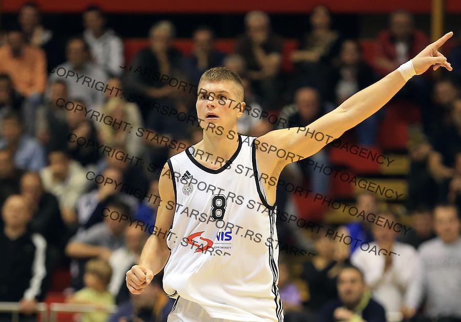 Kosarka Friendly match season 2014-2015<br /> Partizan Vs. Armani Jeans<br /> Edo Muric (C)<br /> Beograd, 25.09.2014.<br /> foto: Srdjan Stevanovic/Starsportphoto&copy;