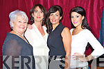 Pictured at the gala fashion show in aid of the CYMS development fund on Thursday night were models Eileen McGillycuddy, Anne Coffey, Bernadette O'Sullivan and Caitriona Mangan.