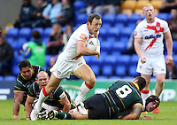 PICTURE BY VAUGHN RIDLEY/SWPIX.COM - Rugby League - 2013 International Origin - England v Exiles - Halliwell Jones Stadium, Warrington, England - 14/06/13 - England's James Roby.