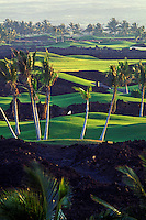 Waikoloa golf course on the Big Island of Hawaii