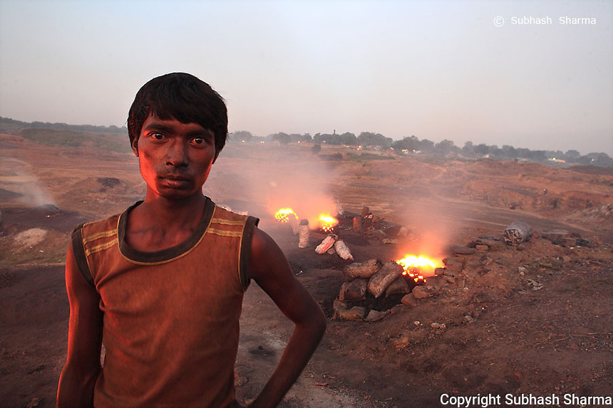 Portrait Series: The Coal Thieves Of Jharia