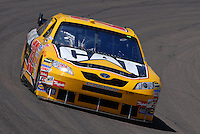 Apr 19, 2007; Avondale, AZ, USA; Nascar Nextel Cup Series driver Dave Blaney (22) during practice for the Subway Fresh Fit 500 at Phoenix International Raceway. Mandatory Credit: Mark J. Rebilas