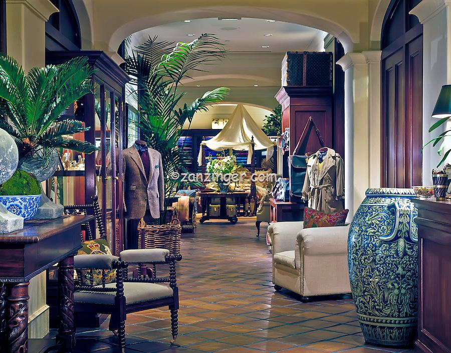 Polo Ralph Lauren, Commercial,  interior, decor, American Clothes Designer, ralph lauren interiors