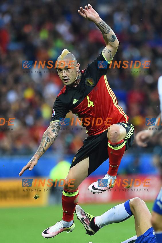 Radja Nainggolan Belgium <br /> Lyon 13-06-2016 Grand Stade de Lyon Football Euro2016 Belgium-Italy / Belgio-Italia Group Stage Group E. Foto Massimo Insabato / Insidefoto