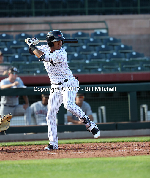 Thairo Estrada - Scottsdale Scorpions - 2017 Arizona Fall League (Bill Mitchell)