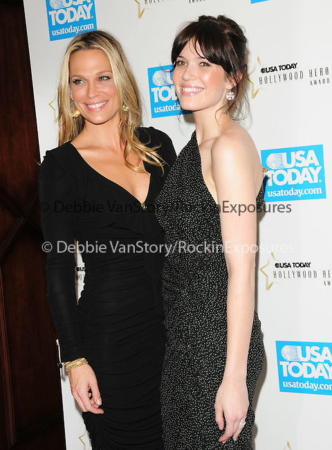 Molly Simms & Mandy Moore Adams at The 4th annual USA TODAY Hollywood Hero Award Gala honoring Ashley Judd held at The Montage Beverly Hills in Beverly Hills, California on November 10,2009                                                                   Copyright 2009 DVS / RockinExposures