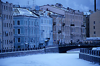 Europe-Asie/Russie/Saint-Petersbourg: Les bords de la  Moïka
