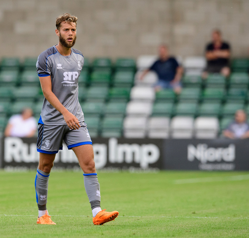 Lincoln City's Jorge Grant<br /> <br /> Photographer Chris Vaughan/CameraSport<br /> <br /> Football Pre-Season Friendly - Lincoln City v Stoke City - Wednesday July 24th 2019 - Sincil Bank - Lincoln<br /> <br /> World Copyright © 2019 CameraSport. All rights reserved. 43 Linden Ave. Countesthorpe. Leicester. England. LE8 5PG - Tel: +44 (0) 116 277 4147 - admin@camerasport.com - www.camerasport.com