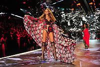 NEW YORK, NY - NOVEMBER 08: Behati Prinsloo at the 2018 Victoria's Secret Fashion Show at Pier 94 on November 8, 2018 in New York City. Credit: John Palmer/MediaPunch