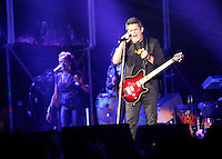Singer Alejandro Sanz performs during Valladolid Latino music festival in valladolid, Spain. June 29, 2013. (Victor J Blanco/Alterphotos)