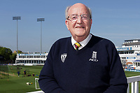 Essex CCC first team scorer Tony Choat pictured ahead of Day Two of Essex CCC vs Nottinghamshire CCC. Tony has been appointed as a scorer at the 2019 ICC World Cup.