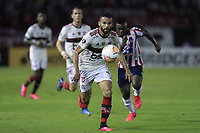 BARRANQUILLA, COLOMBIA - MARCH 04: Thiago Maia Alencar from Flamengo looks at the ball during the group A match of Copa CONMEBOL Libertadores between Junior and Flamengo at Estadio Metropolitano on March 4, 2020 in Barranquilla, Colombia. (Photo by Daniel Munoz/VIEW press via Getty Images)