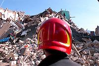 Un pompiere. A fireman.