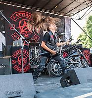 Attika 7 at Mayhem Fest 2013 in Atlanta, GA.