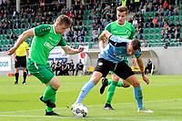 RODINGHAUSEN, Voetbal, Rodinghausen - FC Groningen, voorbereiding  seizoen 2017-2018, 15-07-2017, FC Groningen speler Samir Memisovic probeert de bal te controleren