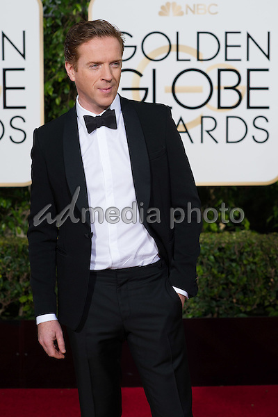 "Damian Lewis, Golden Globe Nominee in the category of BEST PERFORMANCE BY AN ACTOR IN A SUPPORTING ROLE IN A SERIES, LIMITED SERIES OR MOTION PICTURE MADE FOR TELEVISION, for his role in ""Wolf Hall"", arrives at the 73rd Annual Golden Globe Awards at the Beverly Hilton in Beverly Hills, CA on Sunday, January 10, 2016. Photo Credit: HFPA/AdMedia"