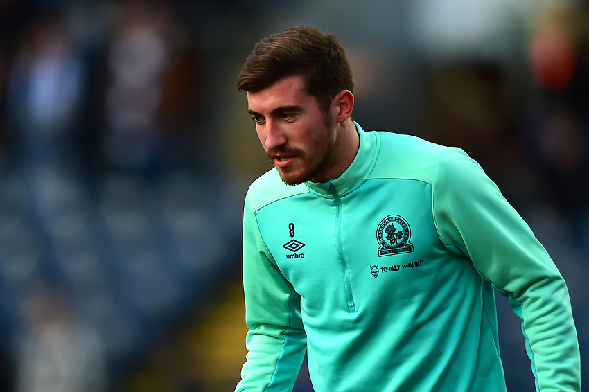 Blackburn Rovers' Joe Rothwell warms up<br /> <br /> Photographer Richard Martin-Roberts/CameraSport<br /> <br /> The EFL Sky Bet Championship - Blackburn Rovers v West Bromwich Albion - Tuesday 1st January 2019 - Ewood Park - Blackburn<br /> <br /> World Copyright © 2019 CameraSport. All rights reserved. 43 Linden Ave. Countesthorpe. Leicester. England. LE8 5PG - Tel: +44 (0) 116 277 4147 - admin@camerasport.com - www.camerasport.com