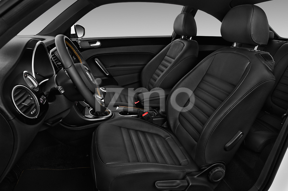 Front seat view of 2017 Volkswagen Beetle Dune 3 Door Hatchback Front Seat  car photos