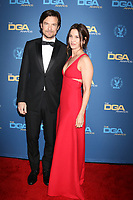LOS ANGELES - FEB 2:  Jason Bateman, Amanda Anka at the 2019 Directors Guild of America Awards at the Dolby Ballroom on February 2, 2019 in Los Angeles, CA