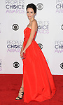 Abigail Spencer arriving at the People's Choice Awards 2016 held at the Microsoft Theater L.A. Live