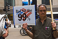 Protest Against Bank of America Chicago Illinois 5-8-12
