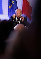 Il Segretario della CEI Nunzio Galantino  interviene al  30° Convegno dei Giovani imprenditori di Confindustria a Capri 16 Ottobre 2015