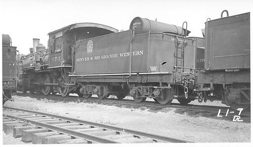 Engine #174 stored at Alamosa, CO.<br /> D&amp;RGW  Alamosa, CO  7/28/1935