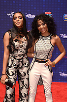 LOS ANGELES - APR 29:  China Anne McClain, Lauryn Alisa McClain at the 2017 Radio Disney Music Awards at the Microsoft Theater on April 29, 2017 in Los Angeles, CA