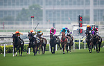 Horses compete during the Race 2, Tim Wa Handicap, at the Sha Tin Racecourse on 03 September 2017 in Hong Kong, China. Photo by Marcio Rodrigo Machado / Power Sport Images