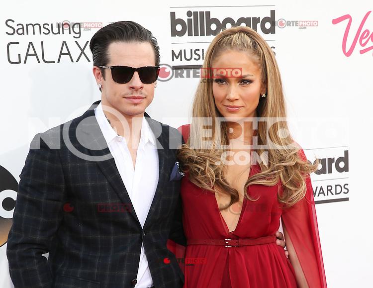 LAS VEGAS, NV - May 18 : Casper Smart and J Lo pictured at 2014 Billboard Music Awards at MGM Grand in Las Vegas, NV on May 18, 2014. © Kabik/ Starlitepics