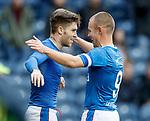 Goalscorers Josh Windass and Kenny Miller